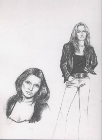 Sharon Corr, Andrea Corr by CelticArwen